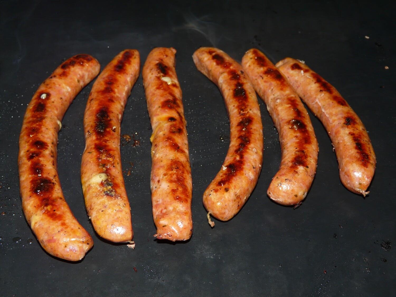 Pintade-Saucisse de Pintade Cheddar Bacon