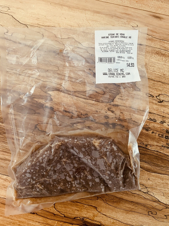 Steak Français style Teriyaki à l'érable