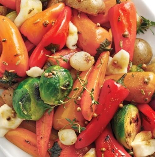 Barquette de légumes brocoli