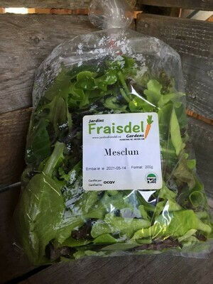 Meslun de Jardins Fraisdel!
