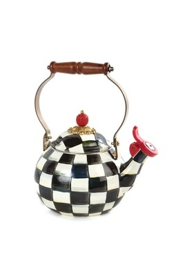 CC 2 qt whistling tea kettle