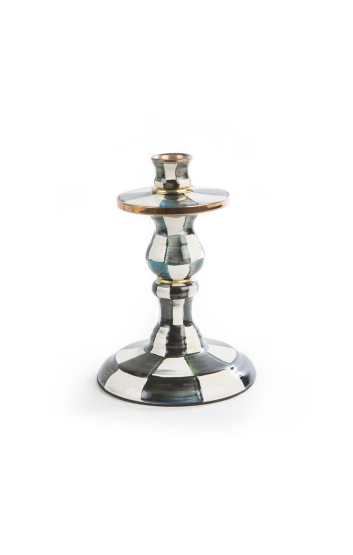 CC enamel candlestick small