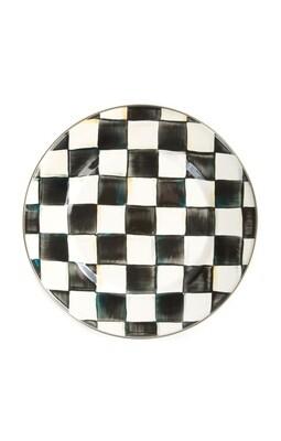 CC enamel dinner plate