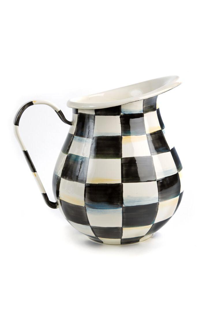 CC enamel pitcher