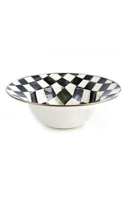 CC enamel serving bowl