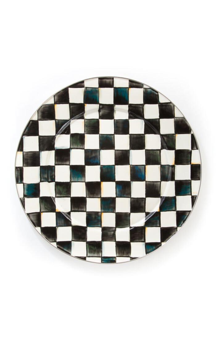 CC Enamel Serving Platter