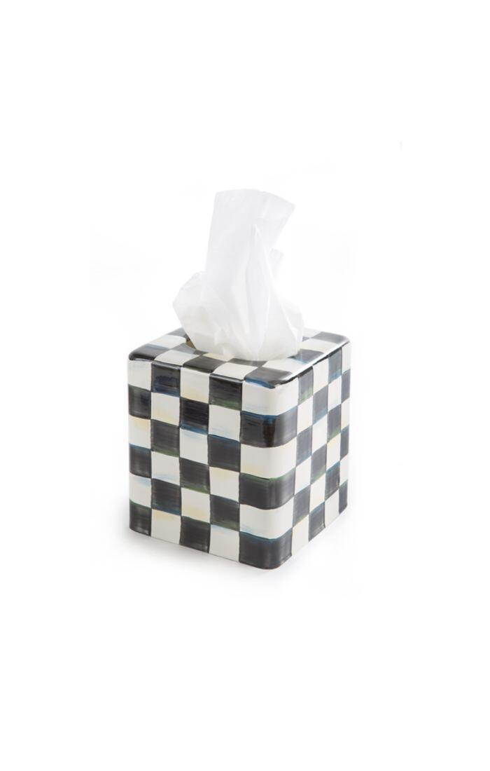 CC enamel tissue box cover