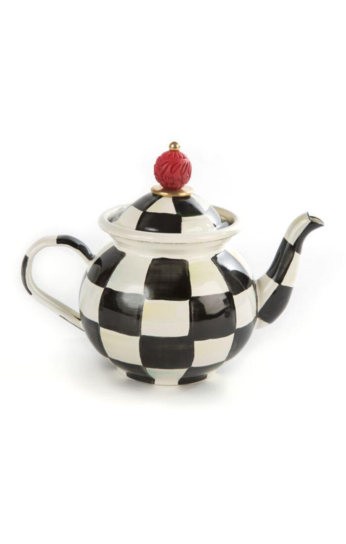 CC enamel tea for me pot