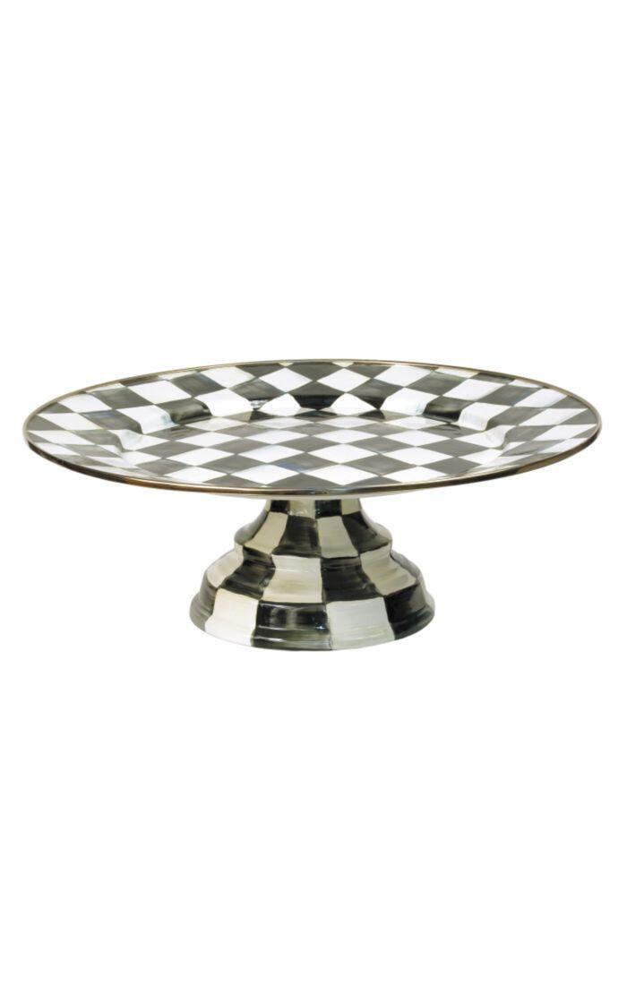 CC Enamel Pedestal Platter - Large