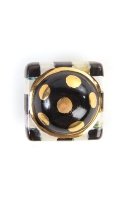 CC petit four square knob