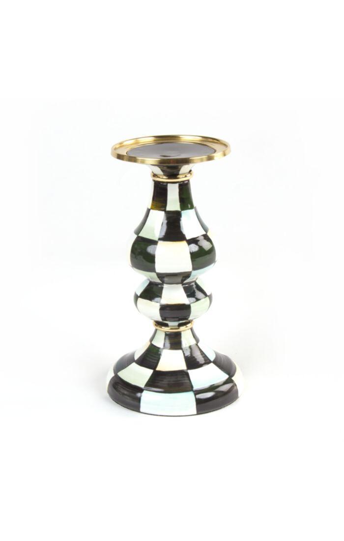 CC Enamel Pillar Candlestick - Medium