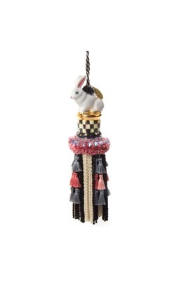 CC rabbit tassel