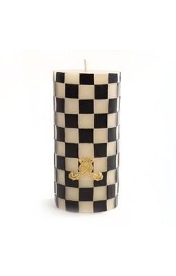 Check pillar candle