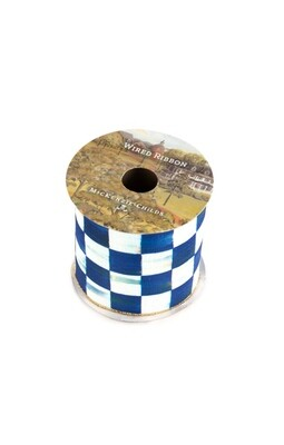 Royal check 4 inch ribbon