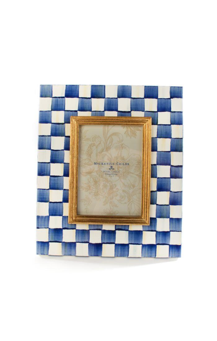 Royal check frame 5x7