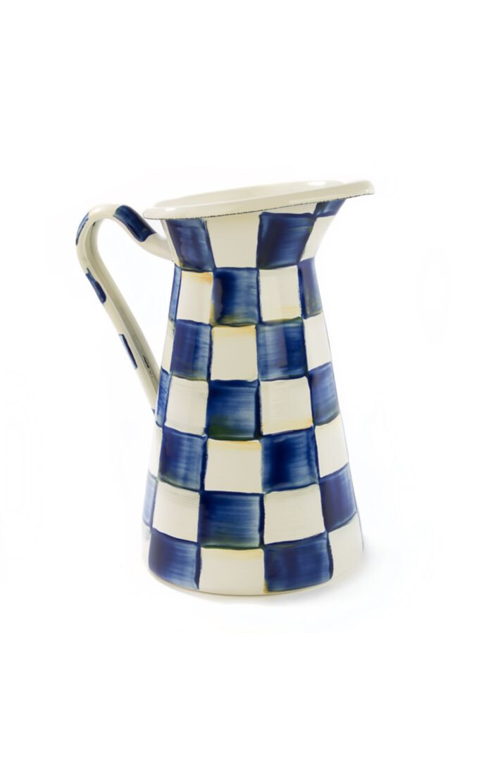 Royal check practical pitcher medium