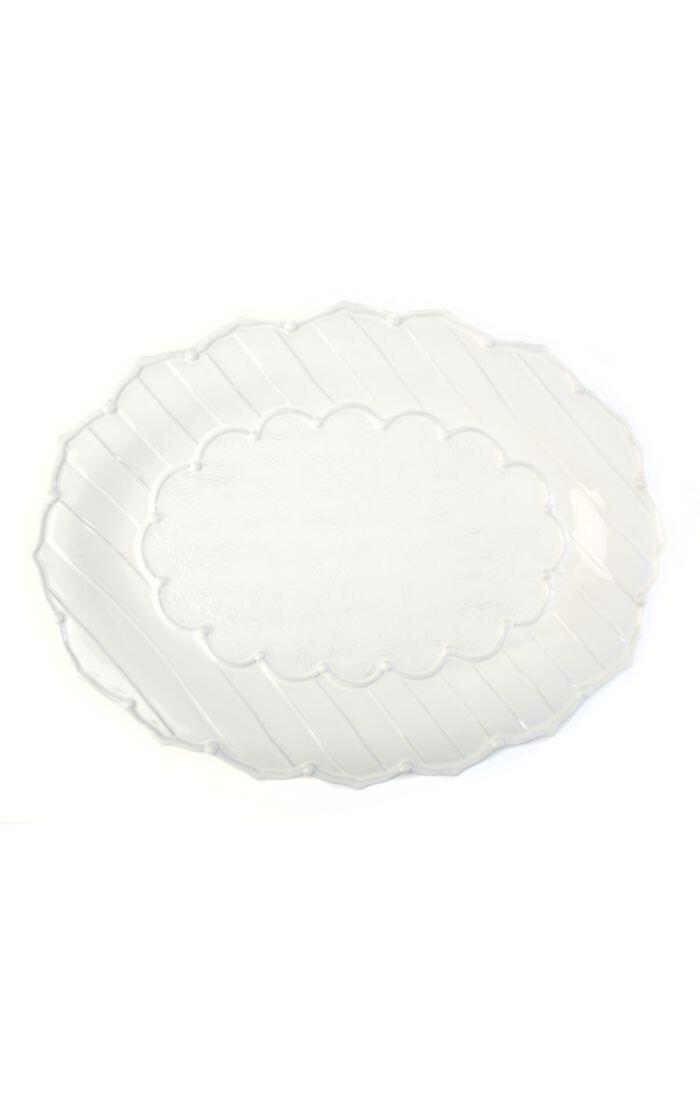 Sweetbriar large oval platter