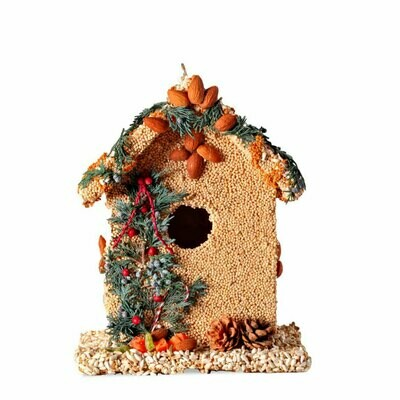 Juniper bed and breakfast bird house