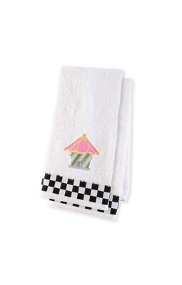 Birdhouse hand towel