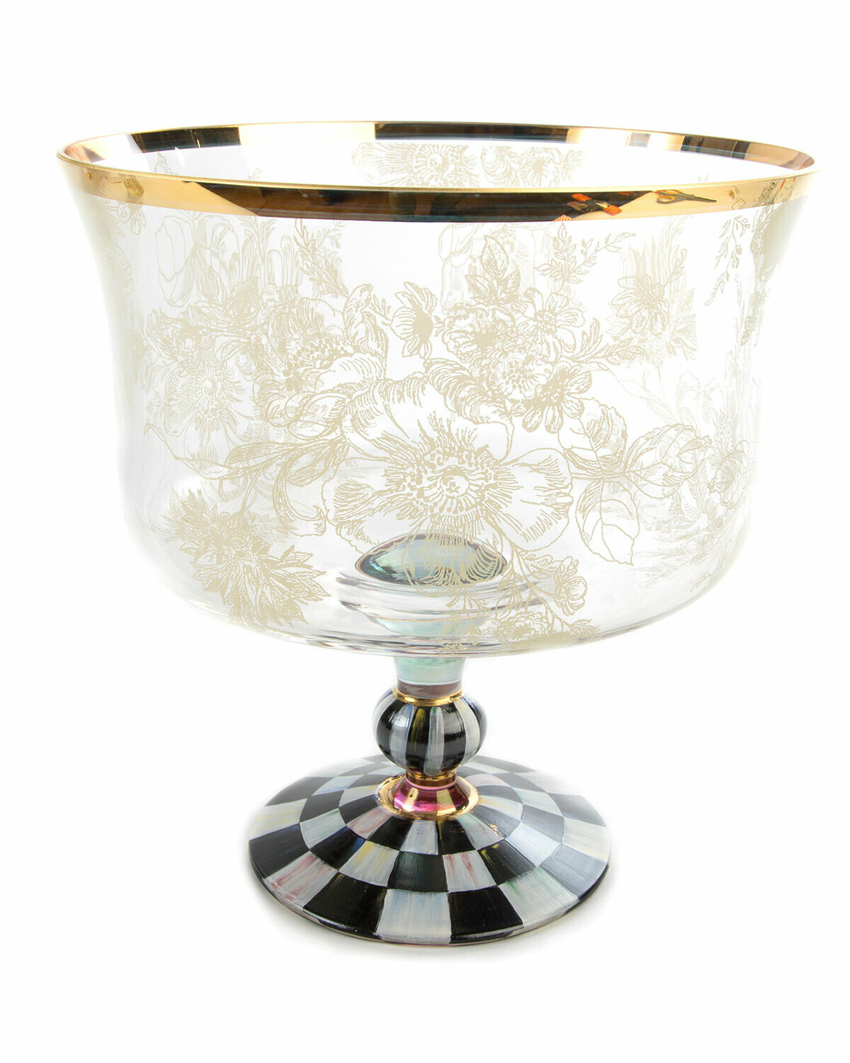 Blooming trifle bowl