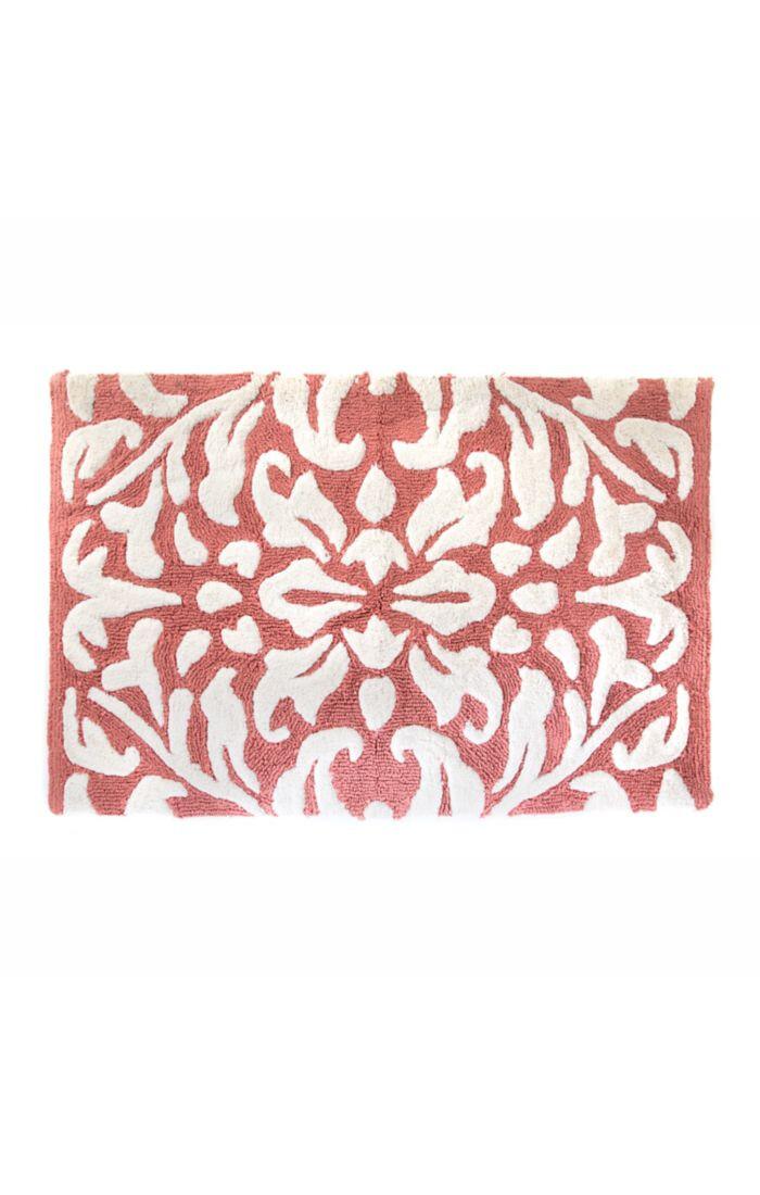 Canterbury bath rug Red