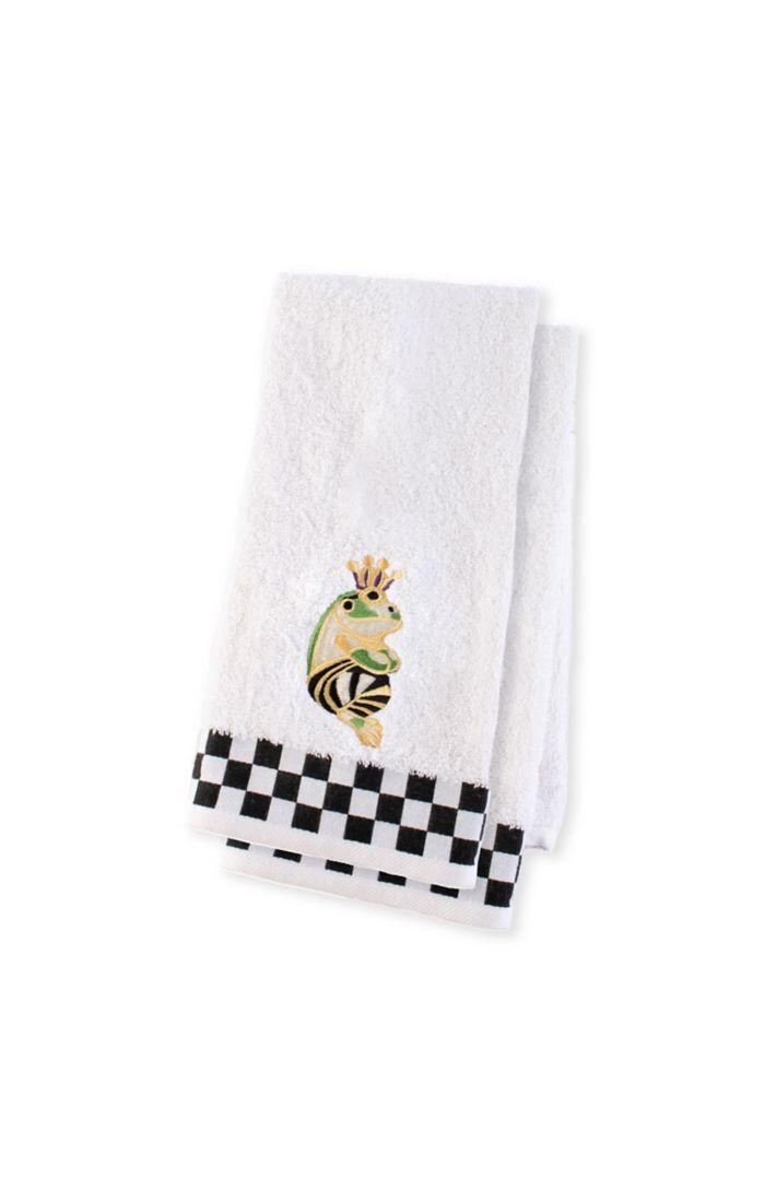 Frog hand towel