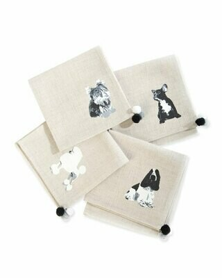 Hair of the dog cocktail napkins set of 4