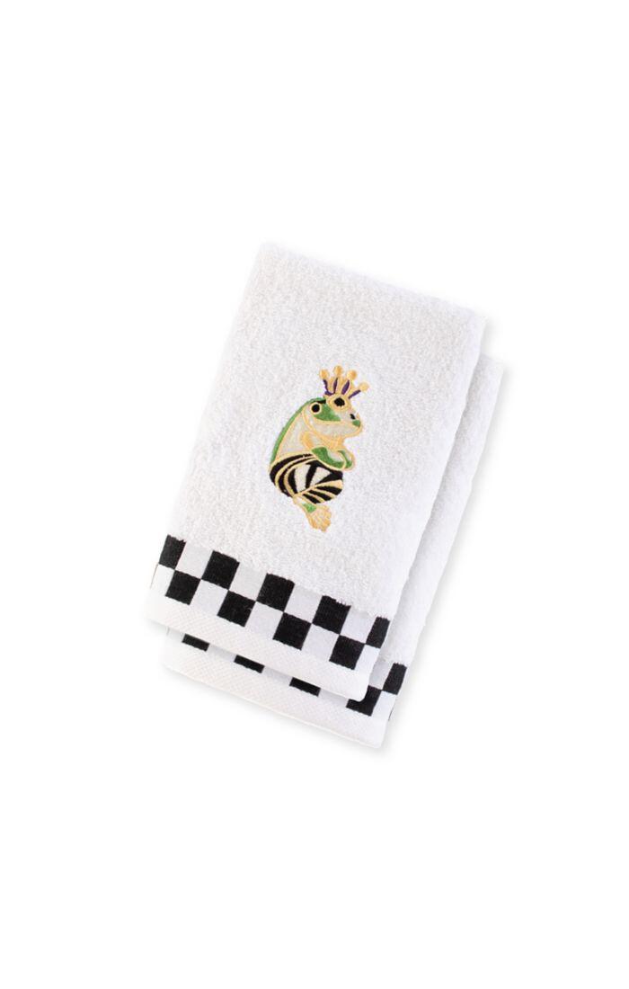 Frog fingertip towel