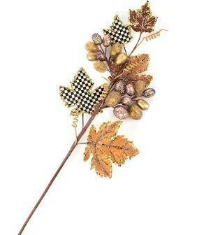 Maple leaf berry stem