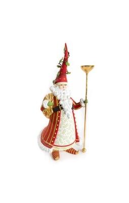 Nicholas santa candle holder
