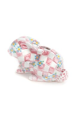 Quilted bunny bank pink