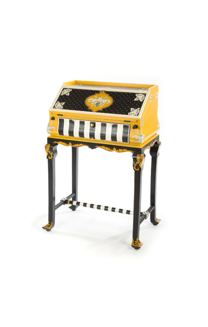 Worker bee writing desk