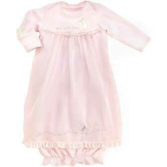Hush bunny gown 0-3 months
