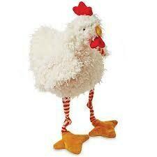 Clucky chicken stuffed animal