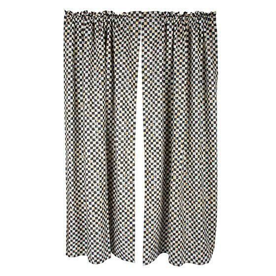 CC Linen Curtain Panel