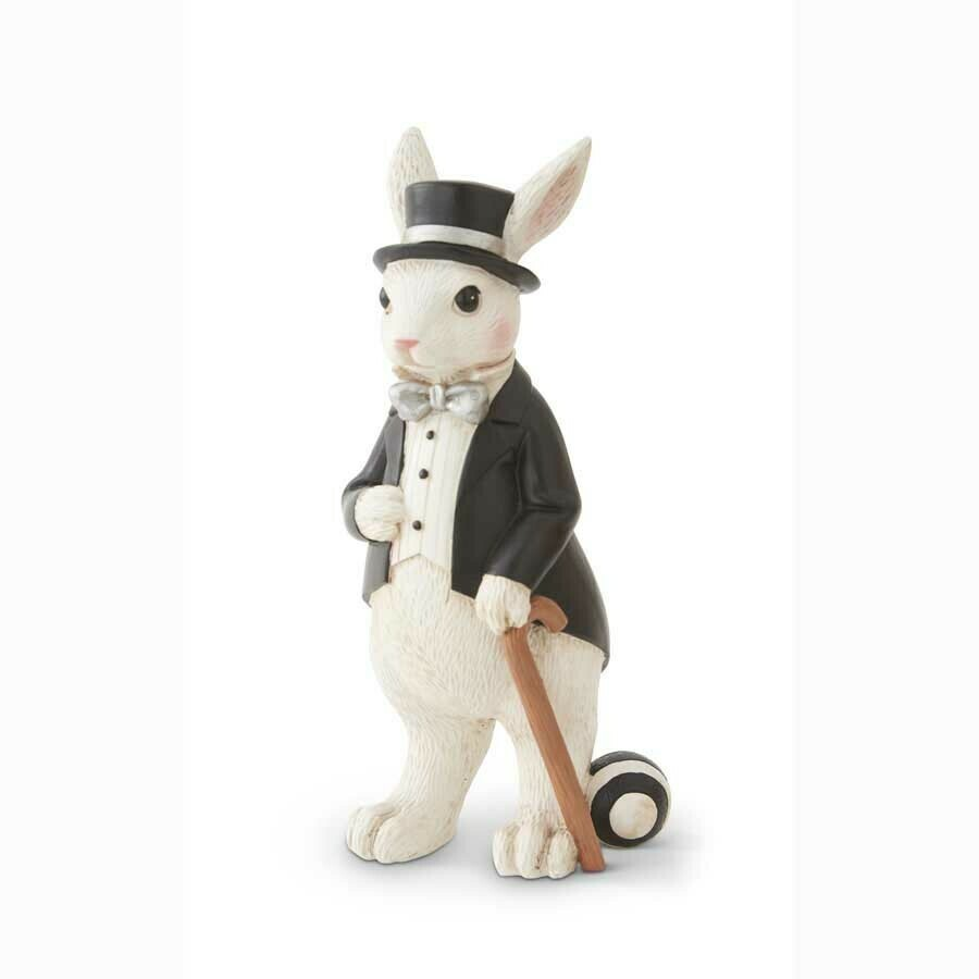 10 inch bunny with top hat