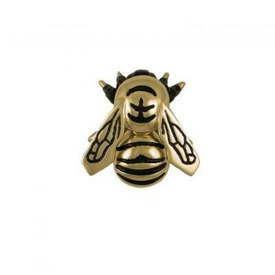 Bumblebee door knocker brass