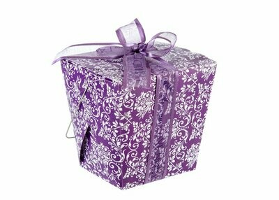 Lavender take out box