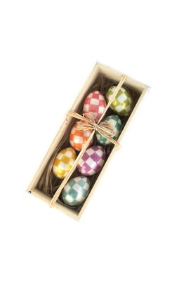 Bright eggs set of 7