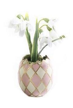 Pastel egg bouquet pink