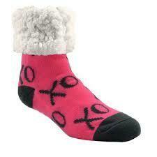 Pudus classic socks XO pink