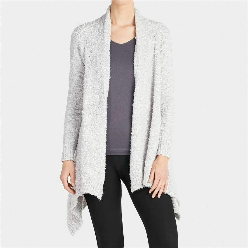 Cozy cardigan heather gray