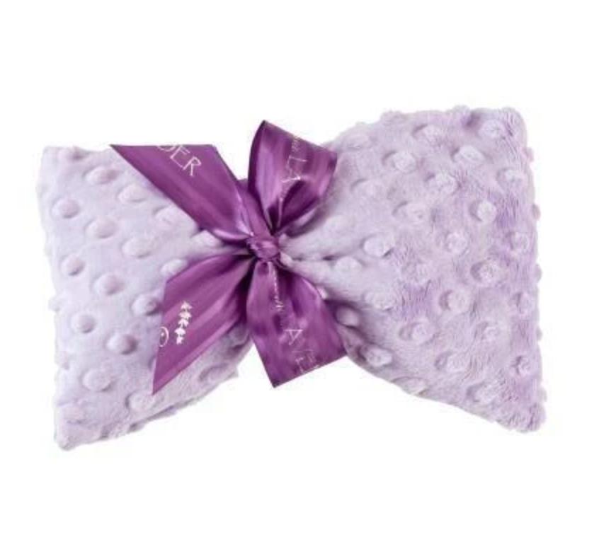 Lavender spa mask lilac dot