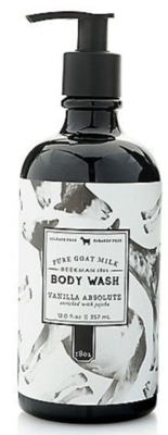 Beekman body wash 12 oz vanilla