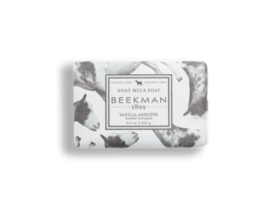 Beekman goat milk soap bar vanilla