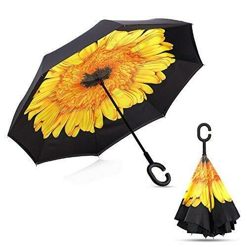 Inverted umbrella Sunflower