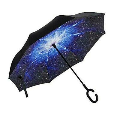 Inverted umbrella Blue galaxy
