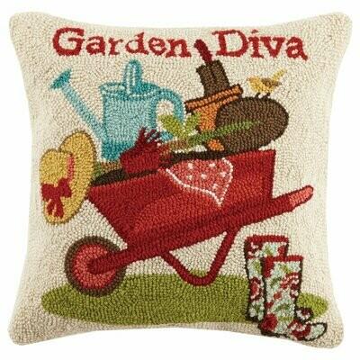 Garden diva pillow