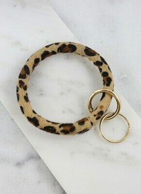 Keychain bracelet Leopard