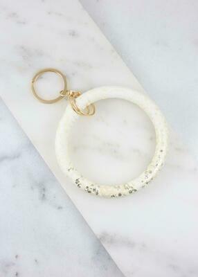 Keychain Bracelet Silver